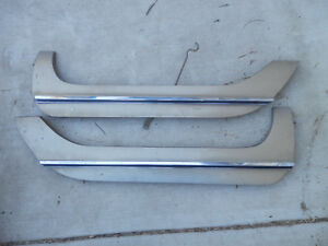 1968 Chrysler Imperial Mopar Fender Skirts Trim Oem Pair Lebaron Crown Coupe