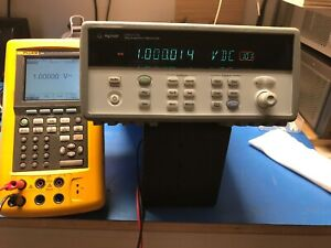 Agilent 34970a Data Acquisition Switch System Tested With Dmm Option And 34907a