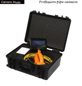40m 960p 1 3mp Ahd Dvr Pipe Wall Sewer Inspection Video Snake Endoscope Camera