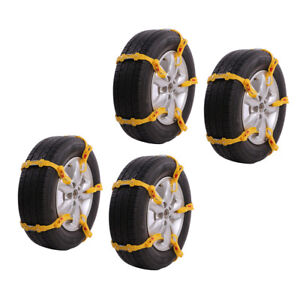 20pcs Suv Anti Skid Tire Chains For Car Suv Snow Winter Emergency Driving