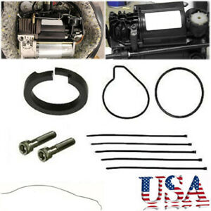 Air Suspension Compressor Pump Seal Repair Kit For Bmw X5 E53 For Vw Q6f8 Us