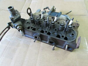 Used Genuine Kubota Cylinder Head Wg600 Grasshopper Walker 12581 03042