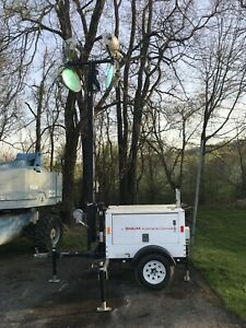 2014 Magnum Mlt3060k Portable Diesel Light Tower With 6kw Generator