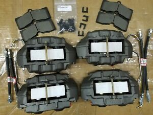 Disc Brake Calipers 65 82 Corvette S s s Calipers 4 Hoses 2 Metal Lines pads ect