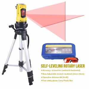 Line Laser Level With Tripod Auto Leveling Kit Combo With Dual module Tool Set