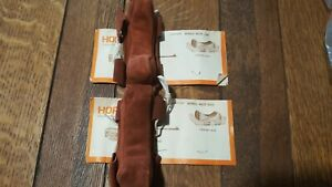 Hoppe's Leather Bench Rest Bags- New Old Stock