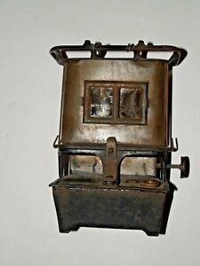 Vintage Sad Iron Heater Antique Kerosene Oil Warmer Stove