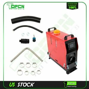 Air Diesel Heater 1 Hole All In One Lcd Monitor For Bus Truck Power 5000w 12v