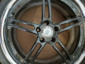 360 Forged Wheels Rims Carbon Fiber Centers Lamborghini Gallardo Continental