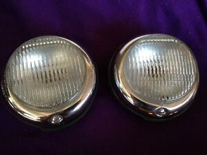 Vintage Hella Turn Signals Tail Lights Porsche 550 Spyder 904 Old Stock Nos