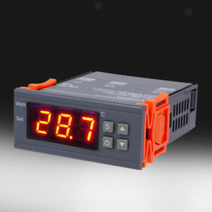Temperature Controller Digital Led Controller Thermometer Thermo Switch