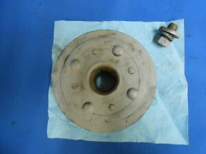 Straight 8 Buick Crank Pulley Harmonic Balancer Part With Bolt