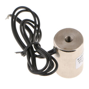 Heavy duty Suck Type Electromagnet Electric Lifting Magnet Dc 12v 2kg 20n