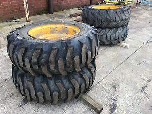 Jcb Loader Wheel And Tire 15 5 25 Tire Loadall Tires Wheels