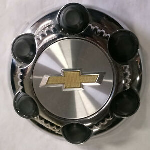 Chevy Silverado 1500 2000 2017 Chrome Raised Logo Oem 16 Wheel Center Cap 5655