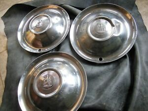 Vintage Plymouth Hubcap 1950 s 15 3 Total Made In Usa