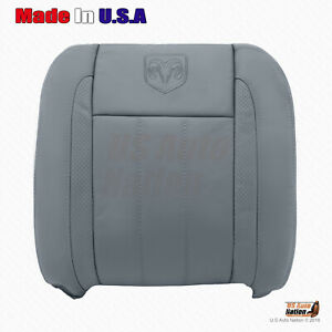 2006 2007 Dodge Ram Laramie 1500 2500 3500 4500 Driver Top Leather Cover In Gray