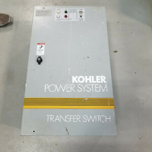 Kohler Hkn 160 Amp 240v Volt 1 Phase 2 Pole Generator Automatic Transfer Switch