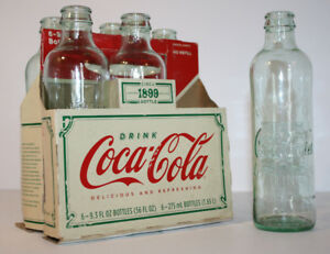 2007 Coca-Cola Limited Edition Hutchinson-type Bottles 1899