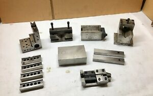 Machinist Specialty V blocks Parallels And Set Ups Precision Ground Qty 12