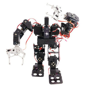 15dof Bipedal Walking Robot With Robotic Arm Gripper Metal Gears Servo
