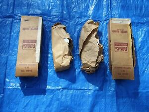 Nos 1950 Ford Passenger Car Left Right Front Bumper Guards