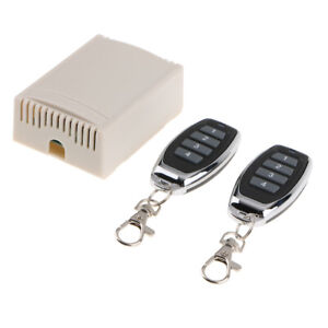 Transmitter And Receiver Wireless Rf Remote Control Switch 12v Dc 433mhz 4ch