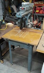 Delta 12 Model 33 890 Radial Arm Saw 2hp 1 ph 115v 230v
