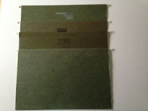 Reinforced Legal Size Legal Hanging File Folders Mixed Variety 69 Count