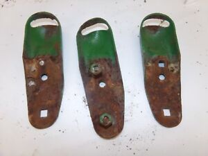 Oliver 770 Gas Tractor Headlight Mounting Brackets