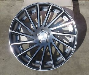 22 Road Force Rf16 Wheels For Lexus Gs Ls Ford Mustang Infiniti Nissan