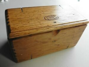 Antique Attachments Puzzle Box For Singer Treadle Sewing Machine
