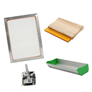 Silk Screen Printing Machine Press Set Scoop Coater For T shirt Diy Printer