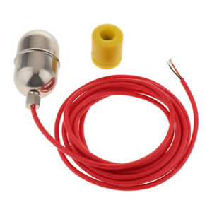 Water Level Sensor Switch Tank Pool Liquid 5m Floats Switch Stainless Steel
