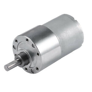 Dc 12v 7w Motor 76 Rpm Shaft Torque Low Noise Motor For Electric Toys