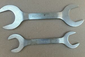 Drew No 23 15 Service Hydraulic Thin Open End Off set Wrench