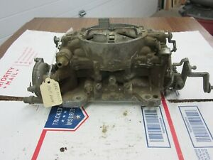 1965 1966 Buick Wildcat 364 401 425 Carter Afb Carburetor C5 Date 3921s Dp1