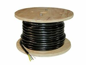 4 wire Trailer Lighting Cable White yellow green brown 500 Feet 14 Gauge