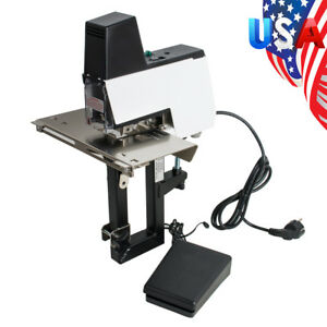 Electric Auto Rapid Stapler Flat With Saddle Binder Machine Book Binding Tool