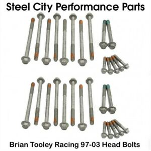 Brian Tooley Racing 97 03 Btr Ls Cylinder Head Bolts Kit 4 8 5 3 5 7 6 0