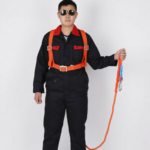 3 Meter Safety Harness Fall Arrest For Rescue Construction 100kg