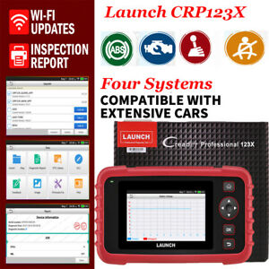 Launch Vii Obd2 Scanner Abs Srs Transmission Engine Code Reader Diagnostic Scan
