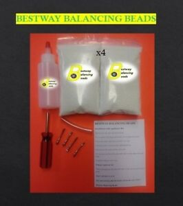 Tire Balancing Beads 4 Bags Of 8 Oz Tire Beads 32 Oz Total Applicator Kit