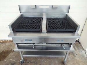 Us Range Heavy Duty Steakhouse Broiler Char Grill 48 w X 32 D Natural Gas
