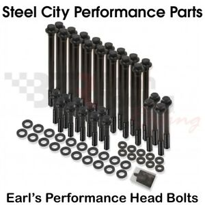 Earls Performance 97 03 Ls Cylinder Head Bolts Kit 4 8 5 3 5 7 6 0