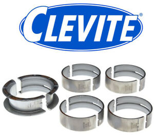 Clevite Ms590p Main Bearings Set For Ford Windsor 221 260 289 302 5 0l