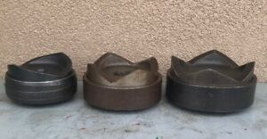 Greenlee Hydraulic Knockout Punch Set 3 3 1 2 4 nice Set 7304 7310 7306 12
