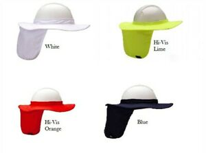 Pyramex Hpshade Hard Hat Brim With Neck Shade Choose Color Lot Qty