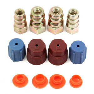A C R 12 To R 134a Retrofit Conversion Adapter Fitting 7 16 3 8 Sae Valves Kit
