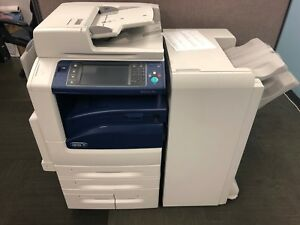 Xerox Workcentre 7970 Multifunction With Office Finisher Rebuilt 100 Consumable